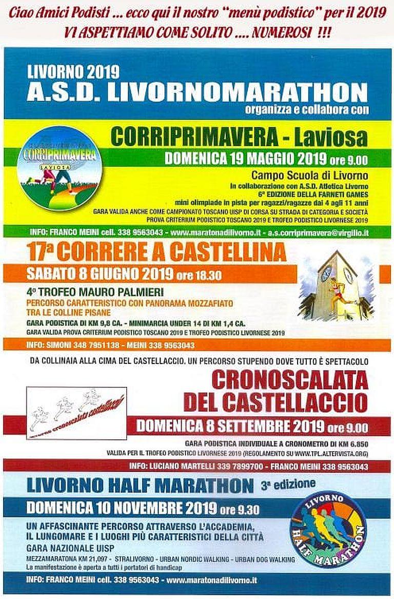 Calendario Podismo Piemonte.Livorno Archivi Mapsrun Calendario Podismo Running Ocr