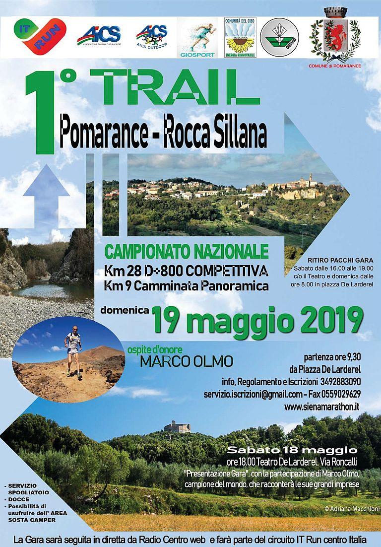 1° Trail di Pomarance – Rocca Sillana