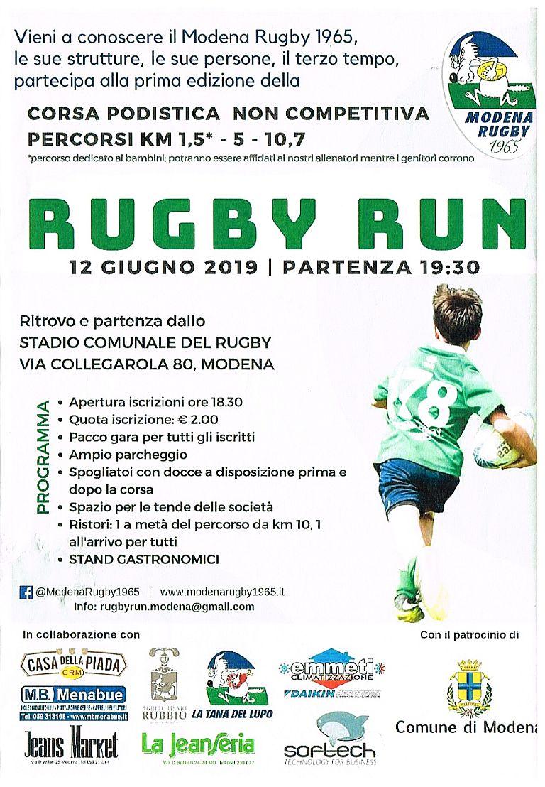 1° Rugby Run