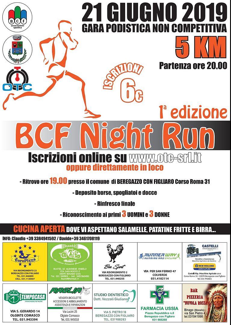 1° BCF Night Run