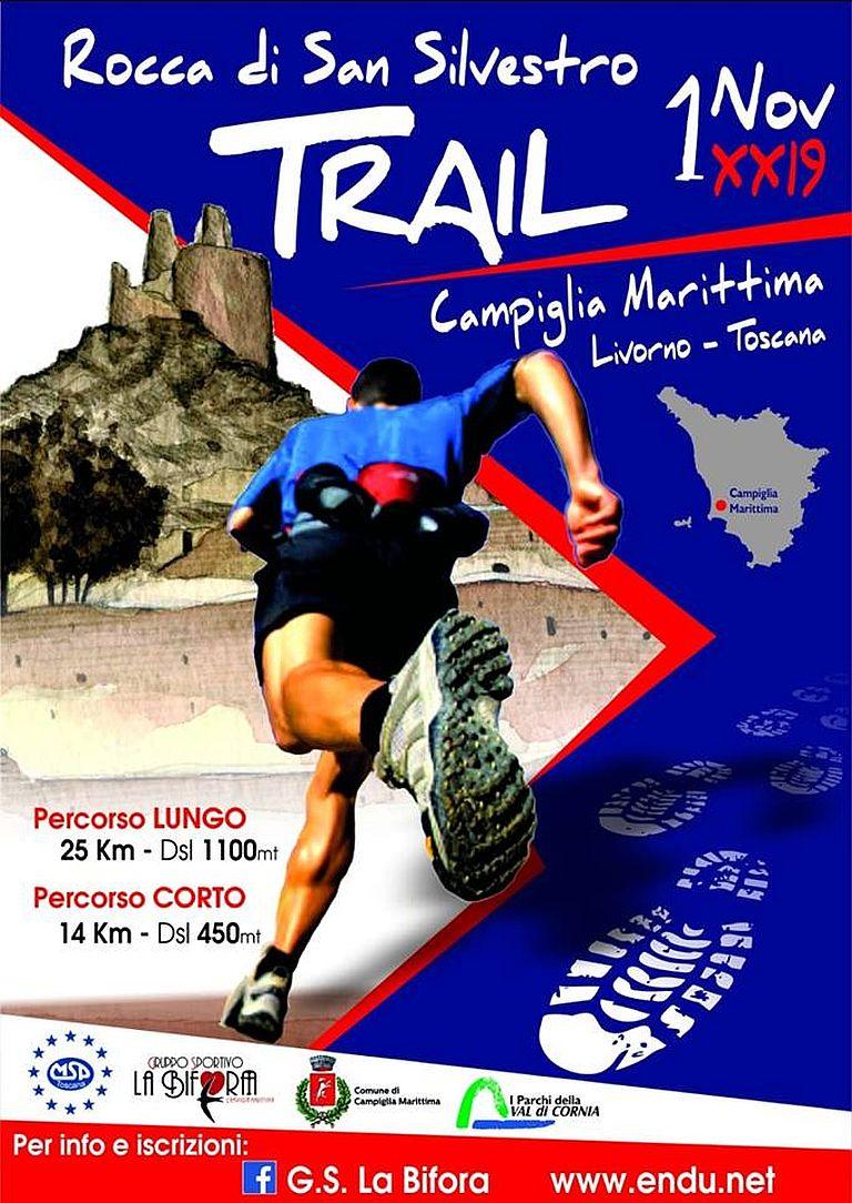 Calendario Gare Podistiche Toscana.Rocca Di San Silvestro Trail 2019 11 01 Mapsrun