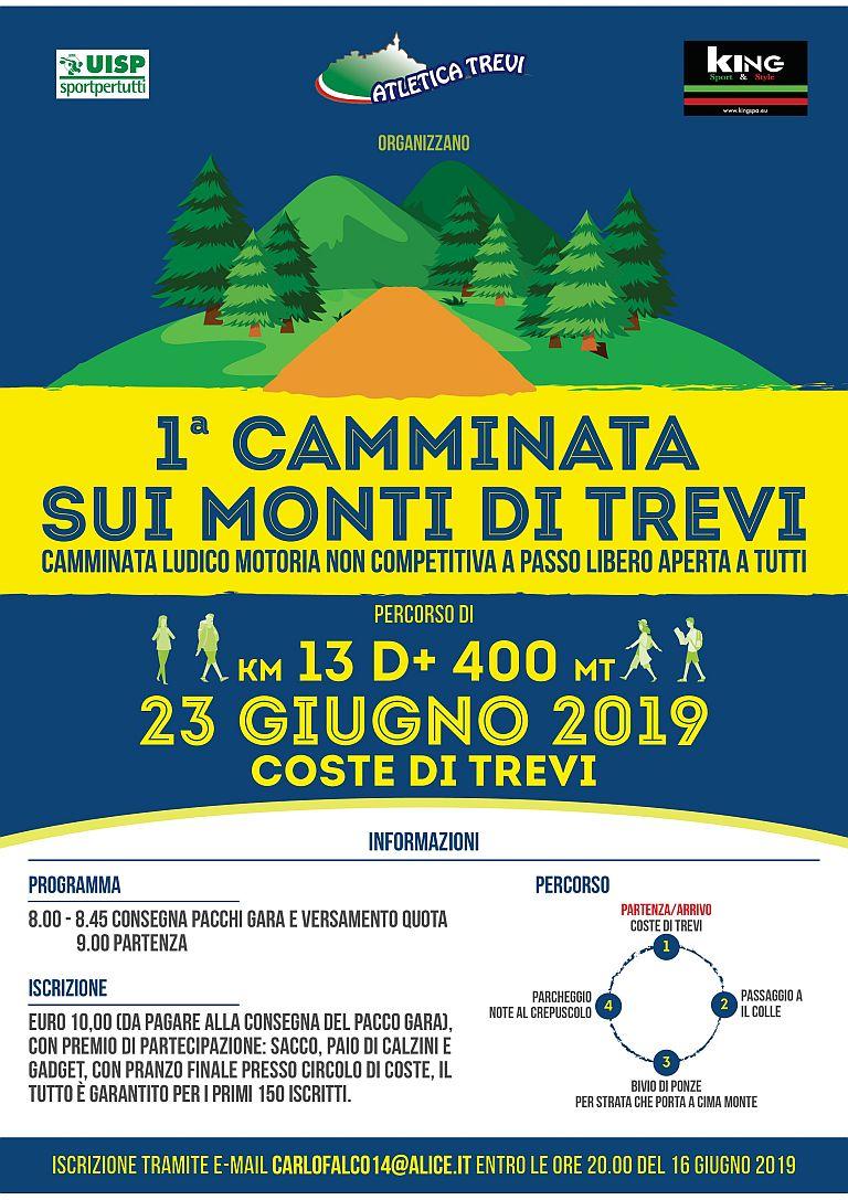 1° Camminata sui Monti di Trevi