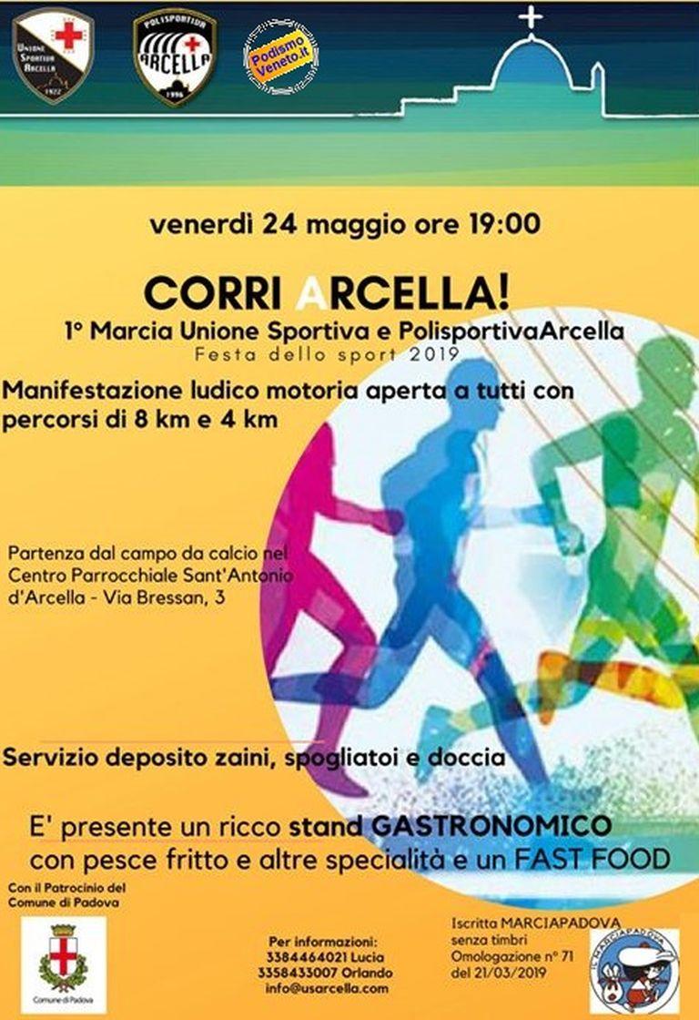 1° Corri Arcella!