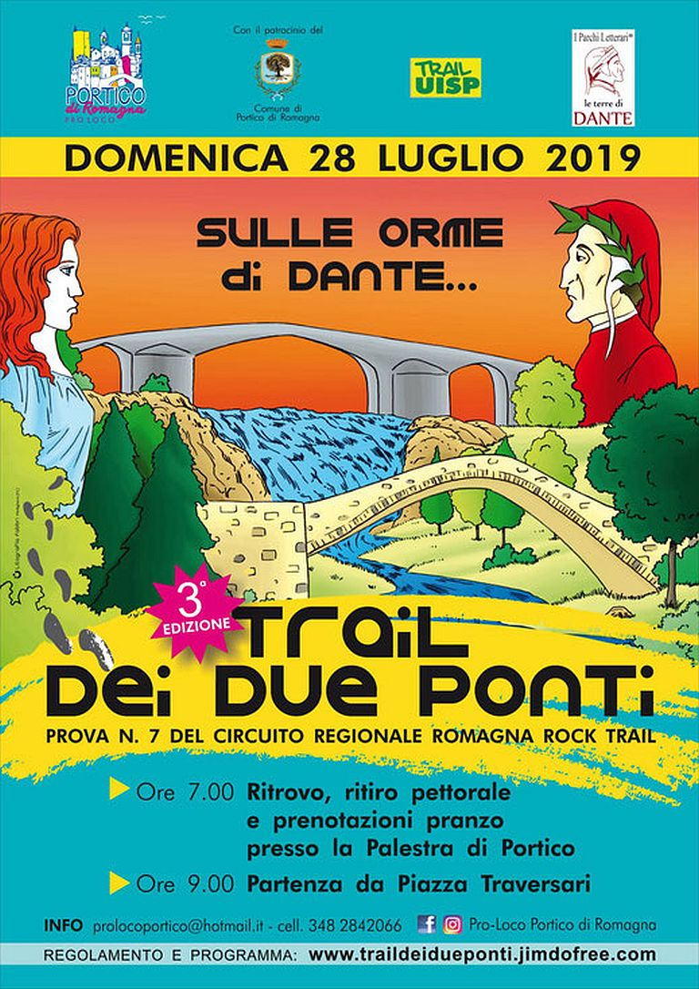 Calendario Podismo Romagna.3 Trail Dei Due Ponti 2019 07 28 Mapsrun Calendario
