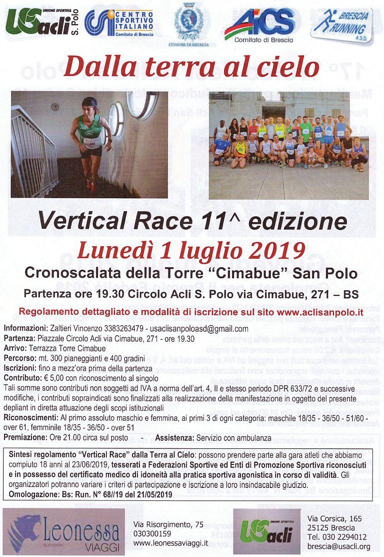 11° Vertical Race dalla Terra al Cielo