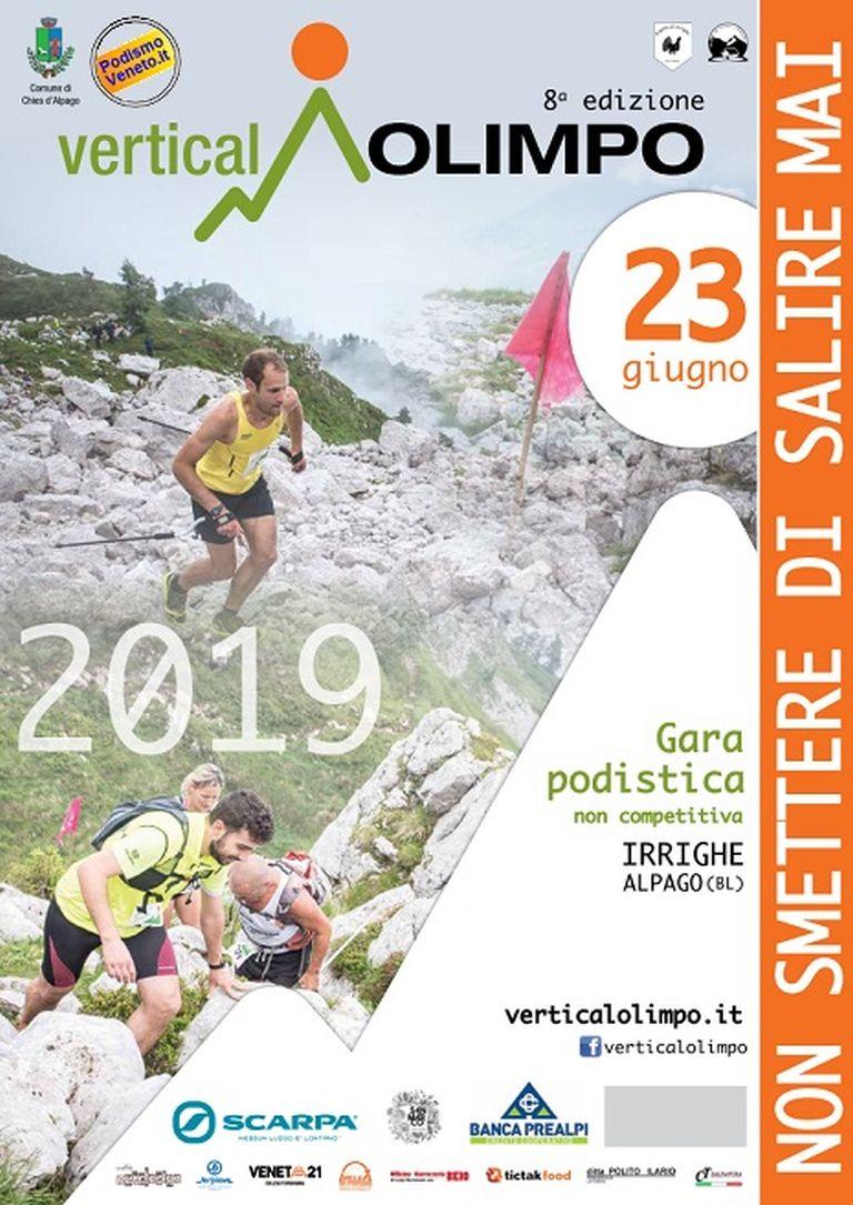 Calendario Podismo Veneto 2020.8 Vertical Olimpo 2019 06 23 Mapsrun Calendario