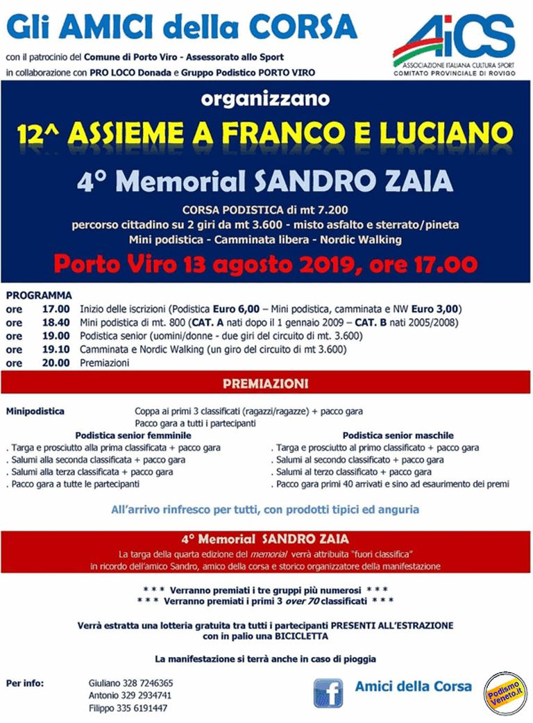 12° Assieme a Franco e Luciano