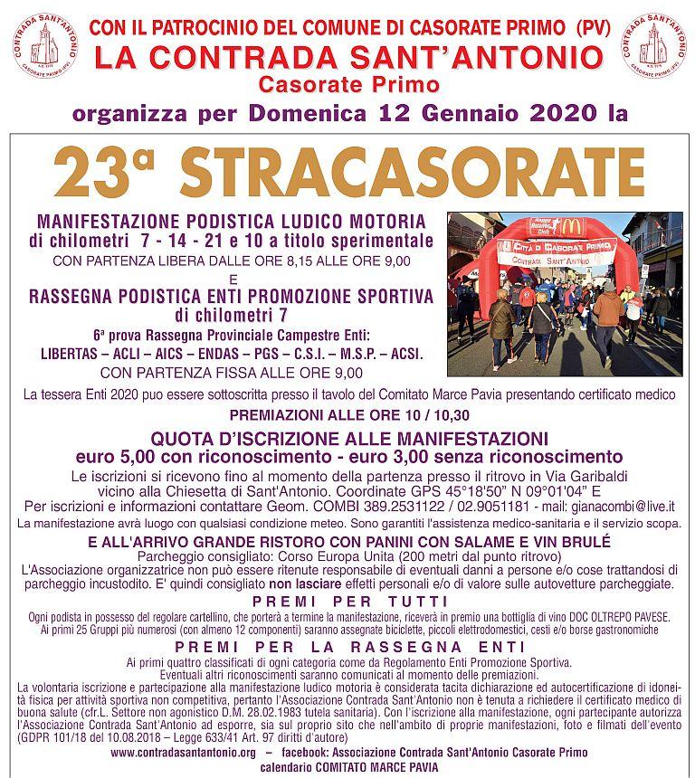 23° StraCasorate