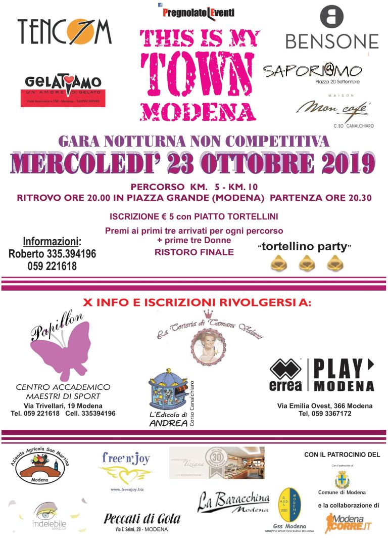 This is My Town Modena