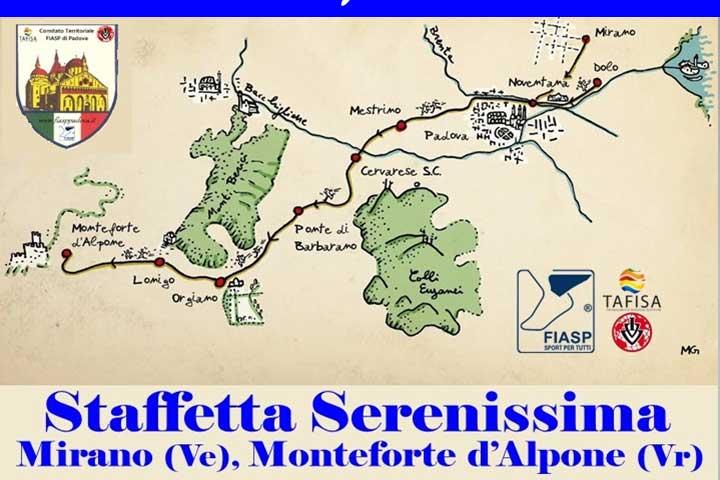 34° Staffetta Serenissima Mirano-Monteforte