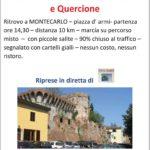 Marcia a Montecarlo...Colline e Quercione